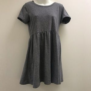 Forever 21 gray babydoll dress small / medium